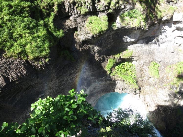 waterfall ordesa pyrenees