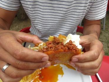 Asturian taco.