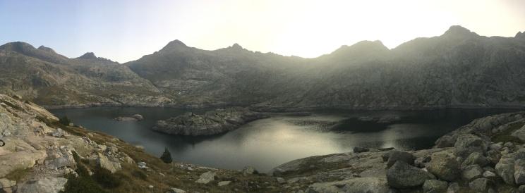 Bachimaña reservoir at dawn